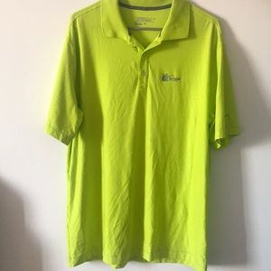 Nike tour performance dry fit golf polo